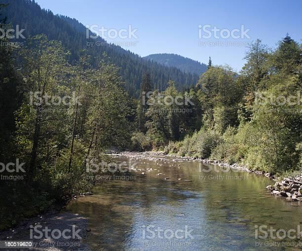 Stillaguamish River Summer Stock Photo - Download Image Now
