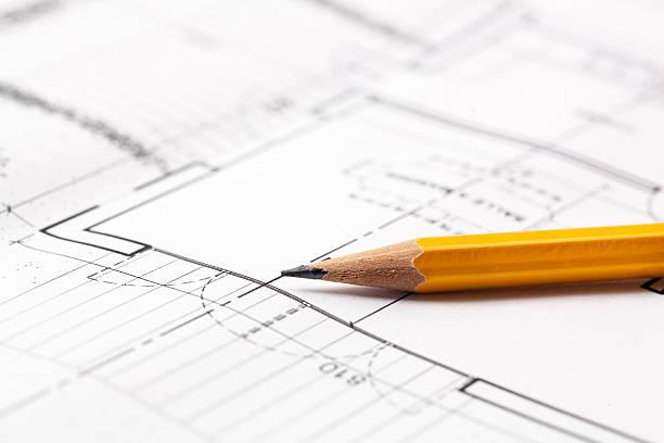stillleben für architektur büro - produktdesigner stock-fotos und bilder
