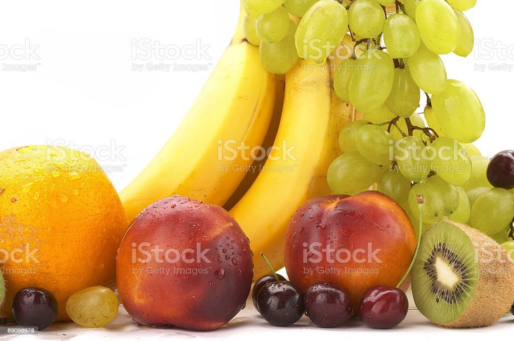 Natura morta di frutta foto stock royalty-free