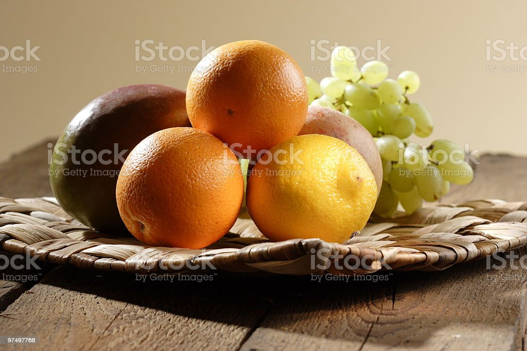stilllife with fruits royalty-free stock photo