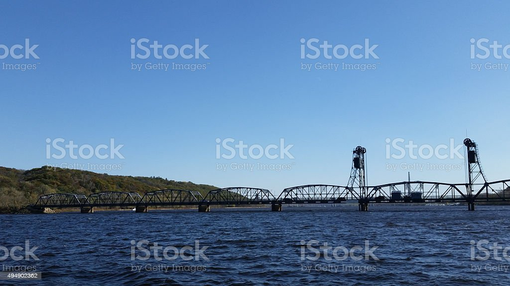 Stillwater Bridge stock photo