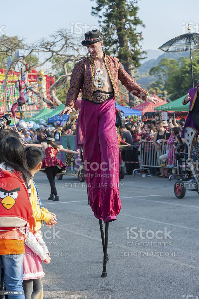 Stilt stock photo