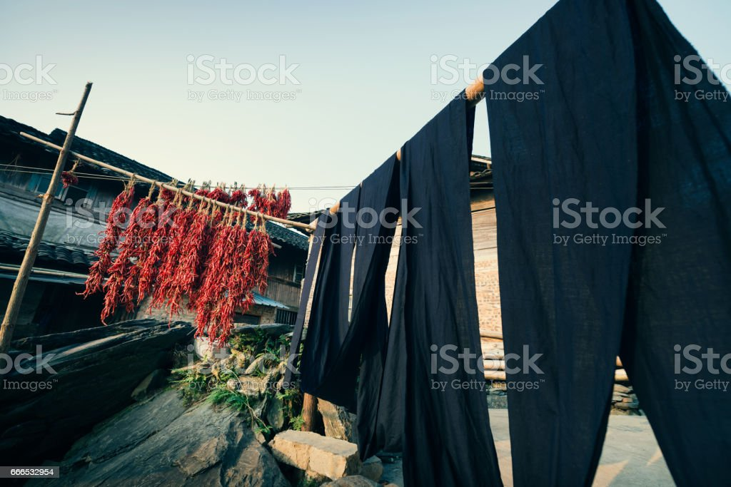 stilted building stock photo