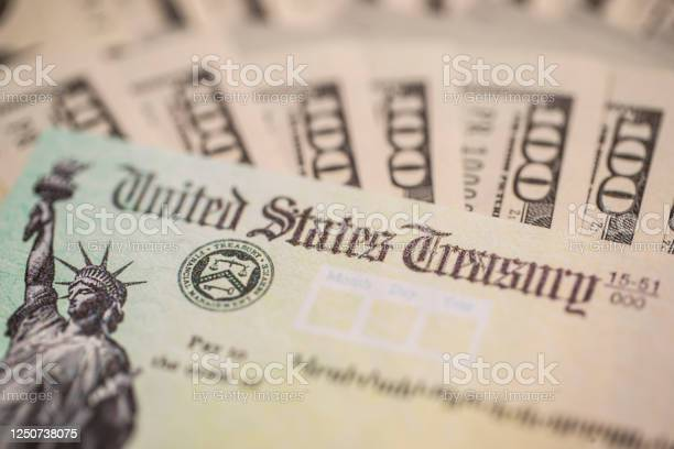 Stimulus Check Stock Photo - Download Image Now