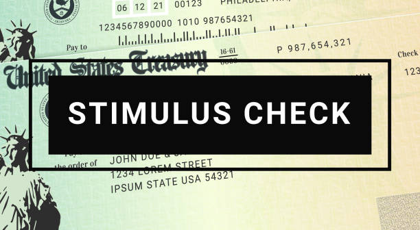 US Stimulus check update. United States Relief Program. US Stimulus check update. United States Relief Program stimulus check stock pictures, royalty-free photos & images