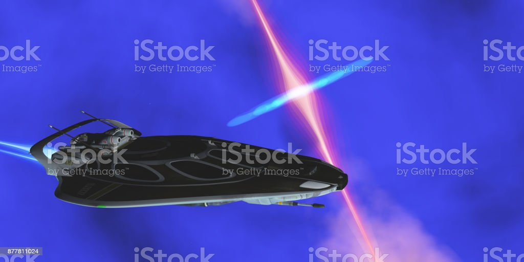 Stinger Star-ship stock photo