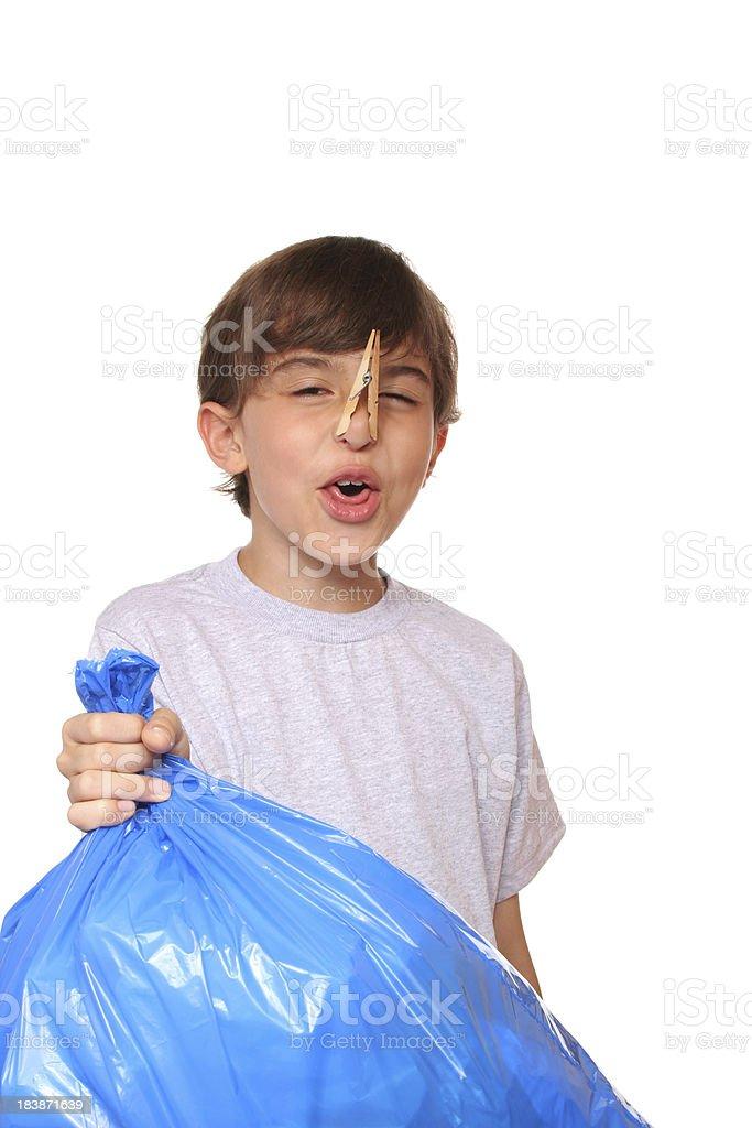 Stinky garbage royalty-free stock photo