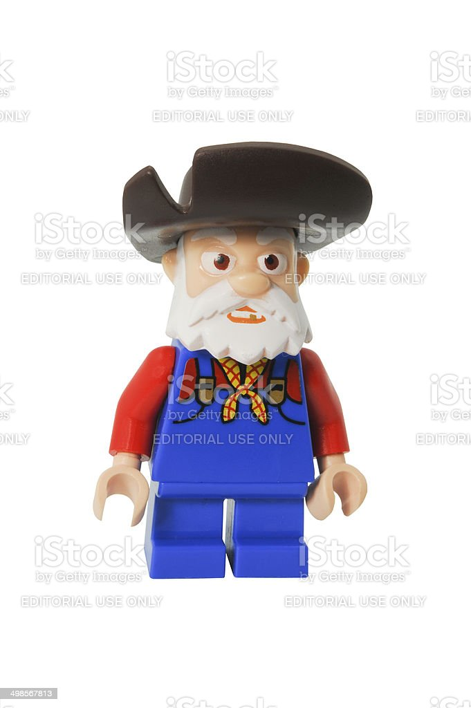 Stinky Pete Lego Minifigurine stock photo