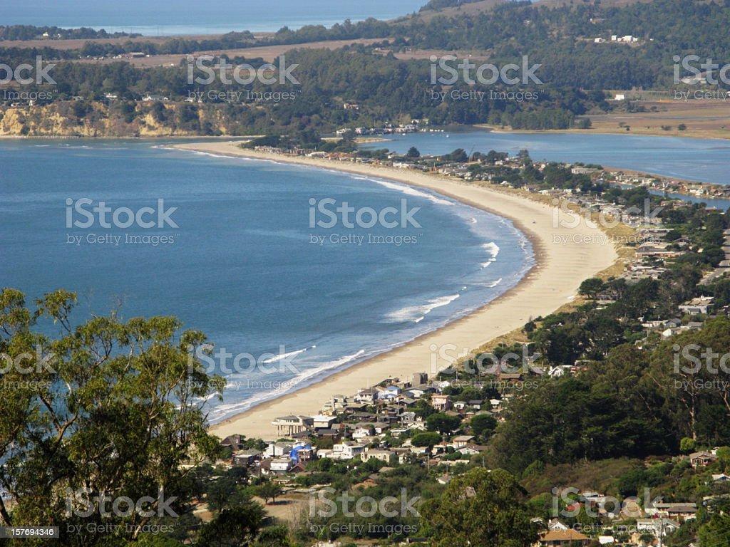 Stinson Beach Town Marin County stock photo