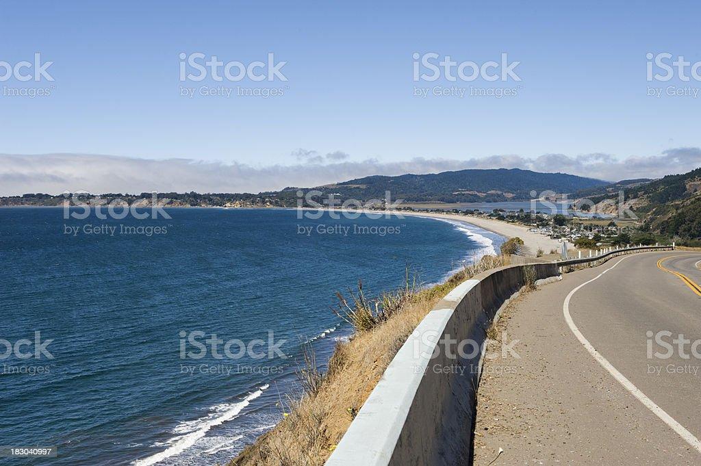 Stinson Beach Views stock photo