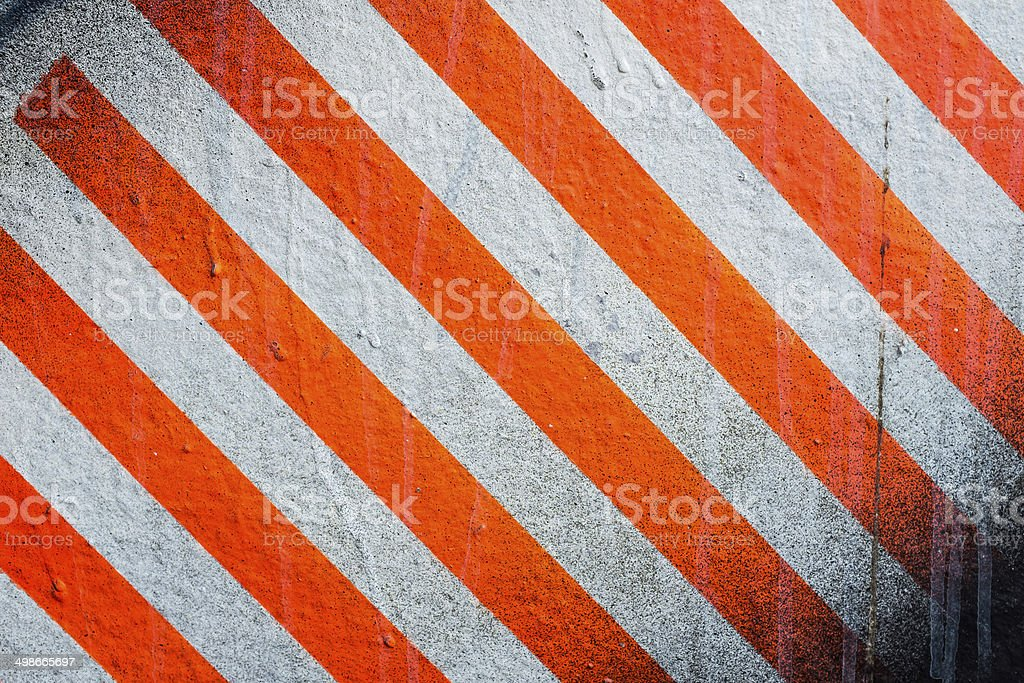 Stiped Wall stock photo