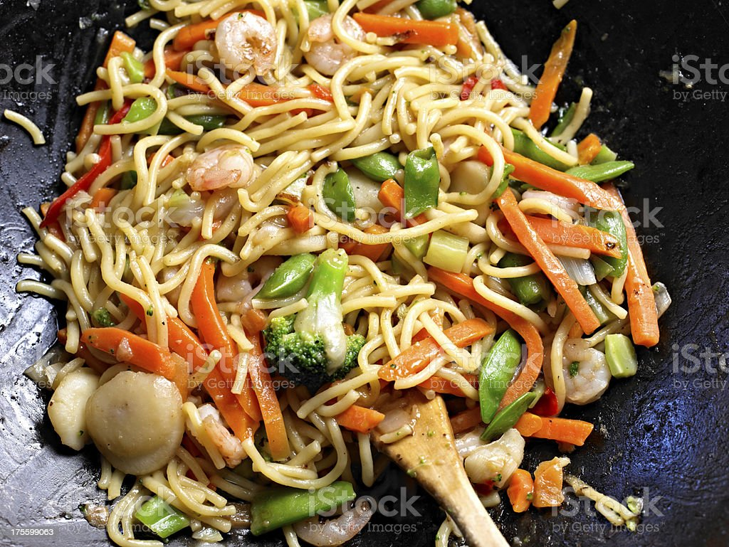 Stir Fried Noodle royalty-free stock photo