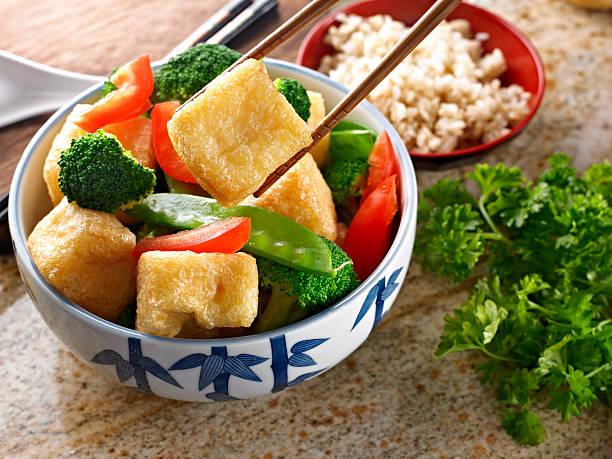 Mélanger légumes frits. - Photo