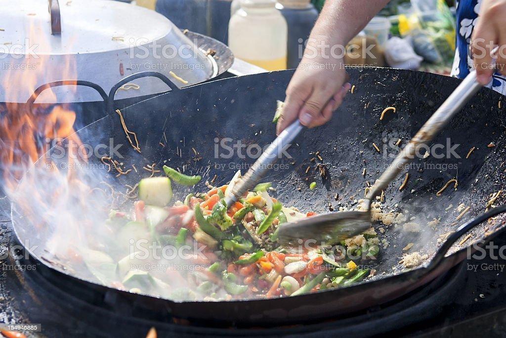 Stir Fry stock photo