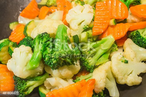 istock Stir-fried mixed vegetables 481604472