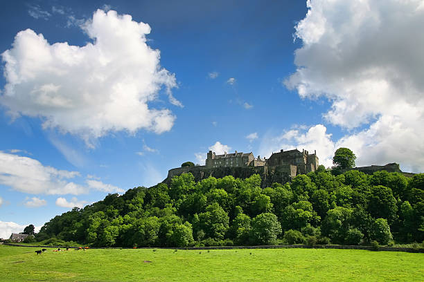 Stirling Castle, Scotland stock photo