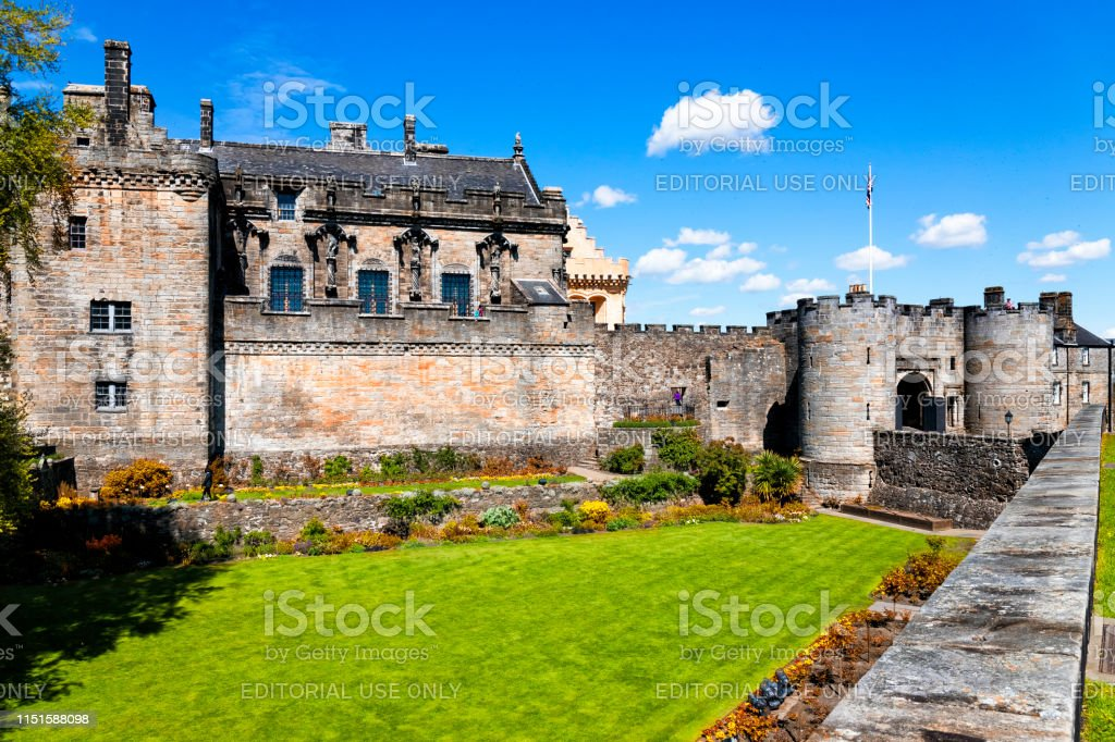 Stirling Castle Schottland Uk Stockfoto Und Mehr Bilder Von