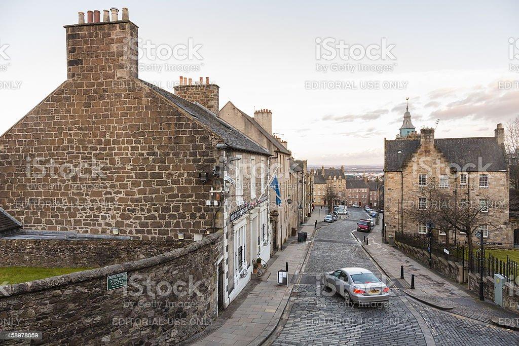 Stirling Old Town Stock Fotografie Und Mehr Bilder Von Alt Istock