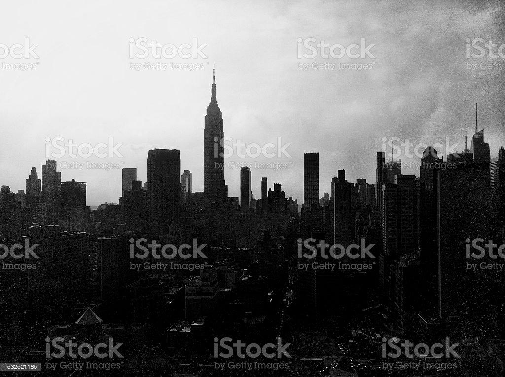 Rühren Stadt Himmel – Foto