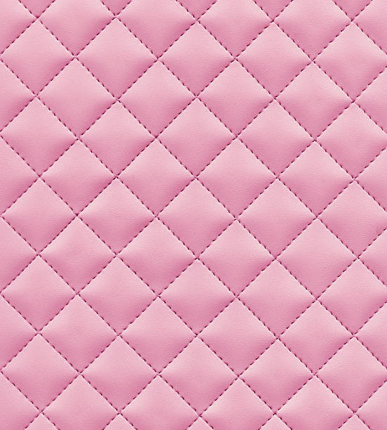 stitched pink leather - femininity stock pictures, royalty-free photos & images