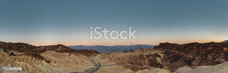 Location: Zabriskie Point, Death Valley National Park, California, USA Shot with Nikon D800E