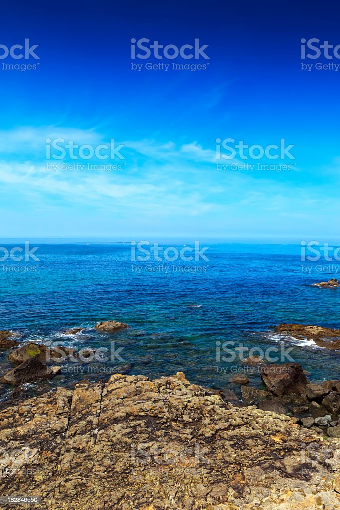 St.Ives beach royalty-free stock photo