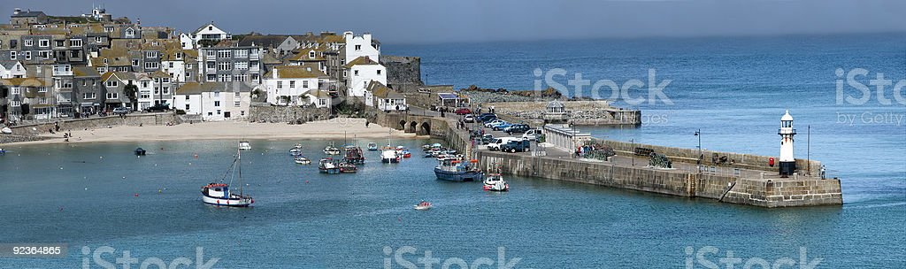 StIves Harbour. royalty-free stock photo