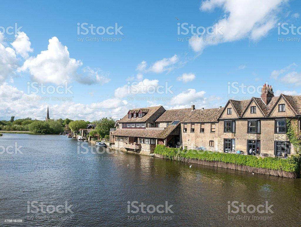 St.Ives in Cambridgeshire, UK stock photo