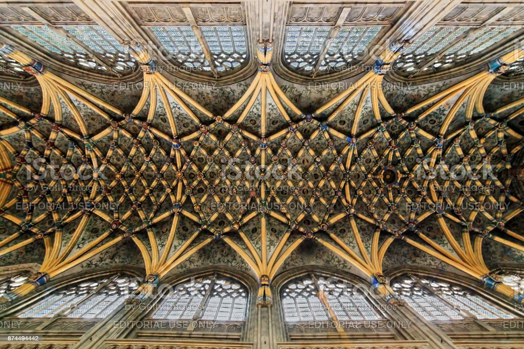 St-Jacob's ceiling stock photo