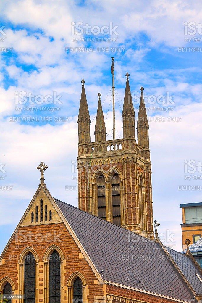 St.James Church tower, Hammersmith, London stock photo