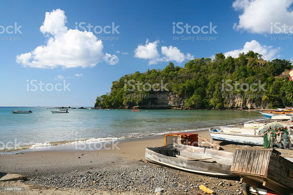 st.Lucia stock photo