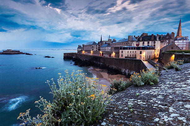 St-Malo panorama – Foto