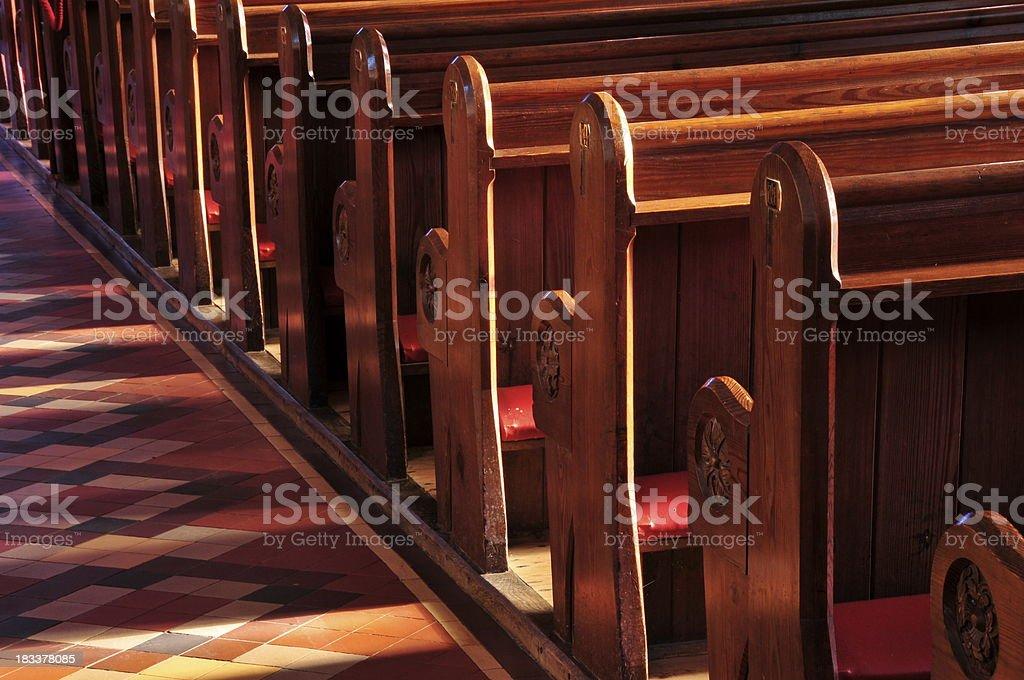 St.Martin church,Jersey. stock photo