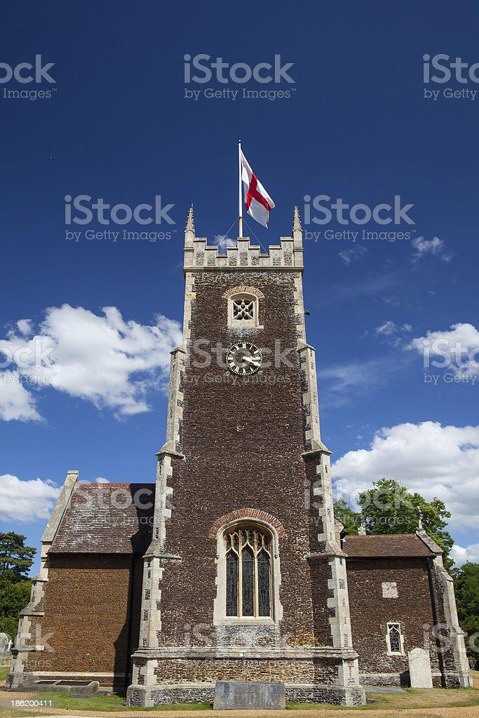 St.Mary Magdalene church in Sandringham stock photo