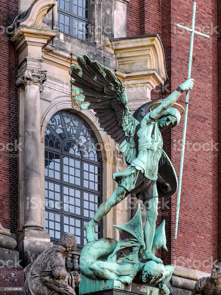 St.Michael stock photo