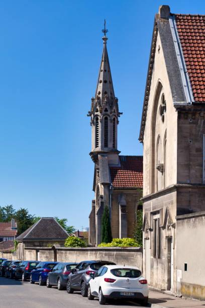 St-Michel chapel in Saint-Dizier stock photo