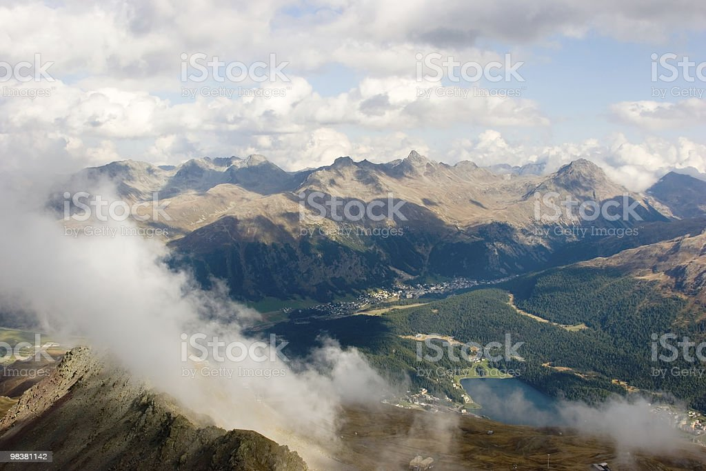 St.Moritz royalty-free stock photo