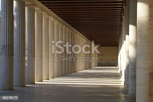 istock Stoa of Attalos 92078172