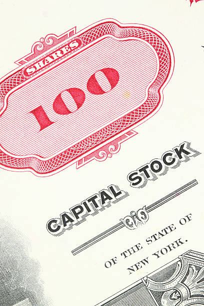 Stock certificate  debenture stock pictures, royalty-free photos & images