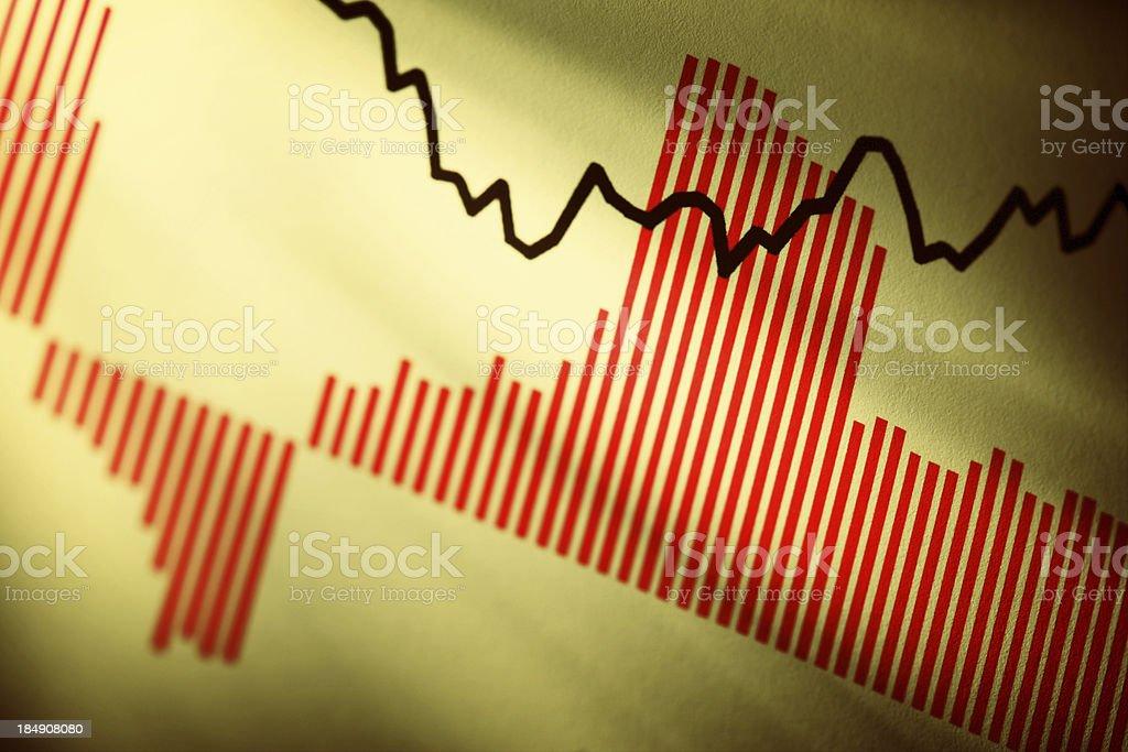 Tabela de Stock - foto de acervo