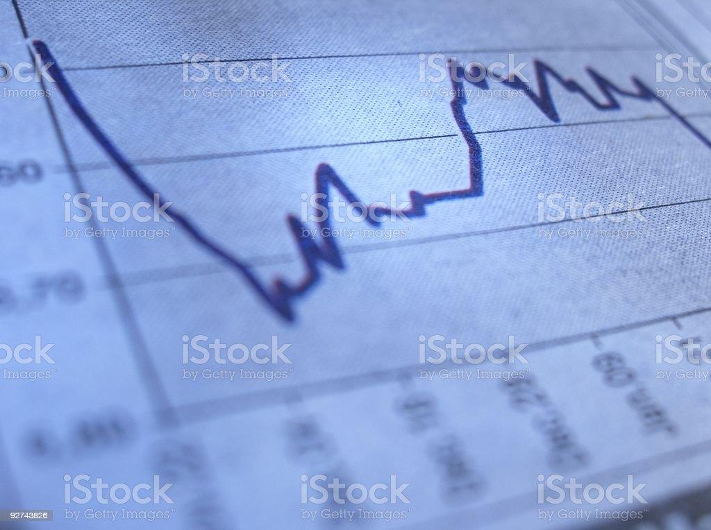 Stock-Tabelle Lizenzfreies stock-foto
