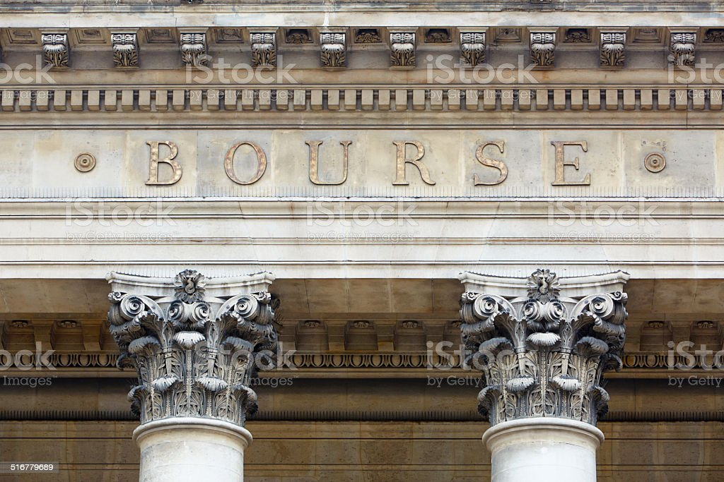 bourse, la bourse de Paris - Photo