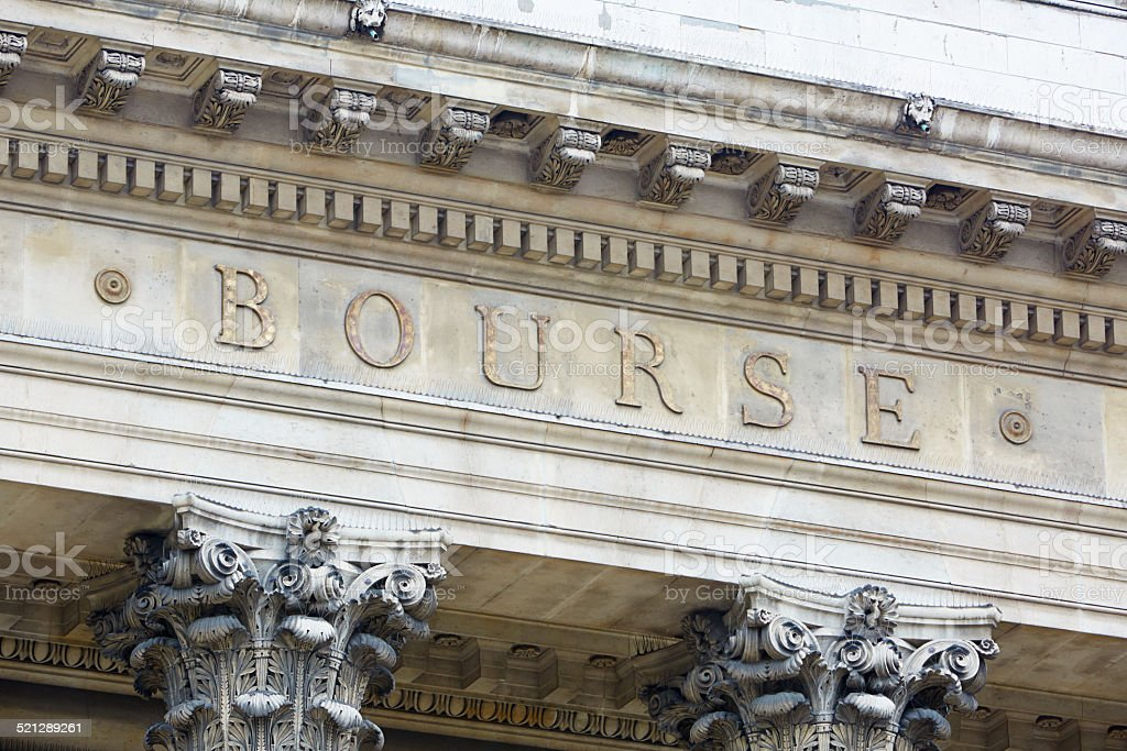 bourse de Paris, la bourse - Photo