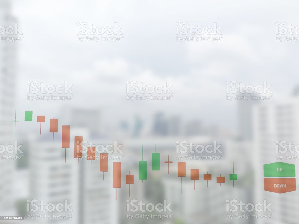 Stock Exchange on soft focus,abstract in background, royalty-free stock photo