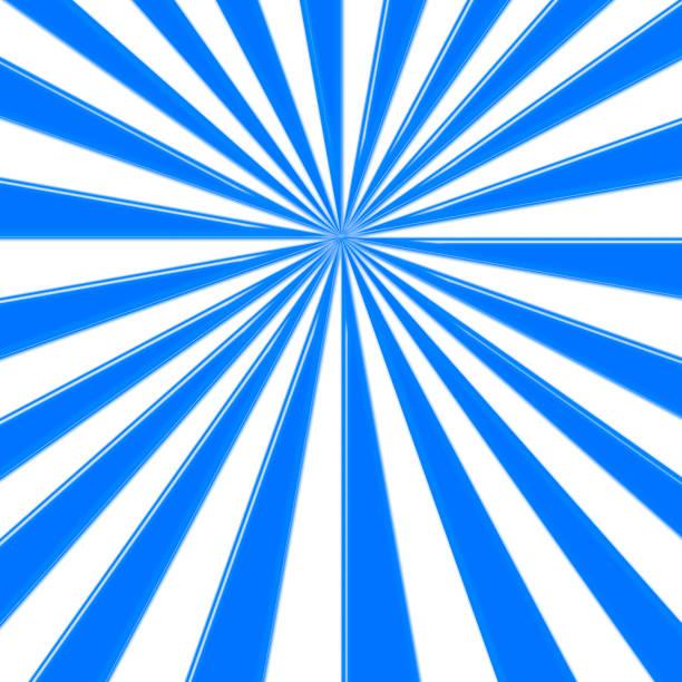 illustration - blau gefärbten sonnenstrahlen zentrierten hintergrund, leere kopie raum, 3d illustration auf lager. - faschingssprüche stock-fotos und bilder