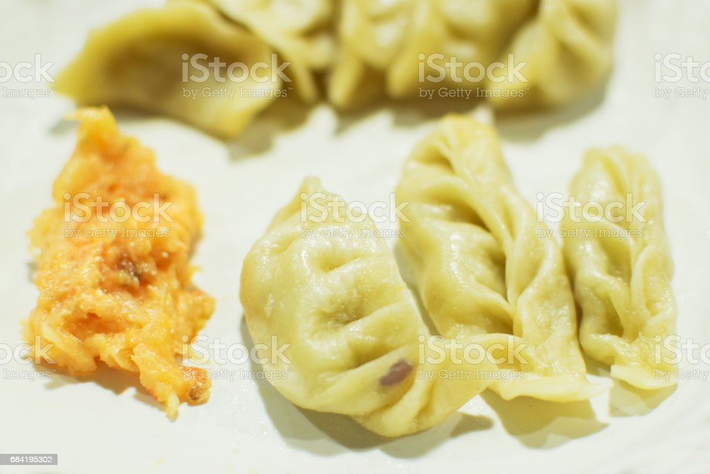 Stock image for Momo, vegetable dish, India royalty-free stock photo