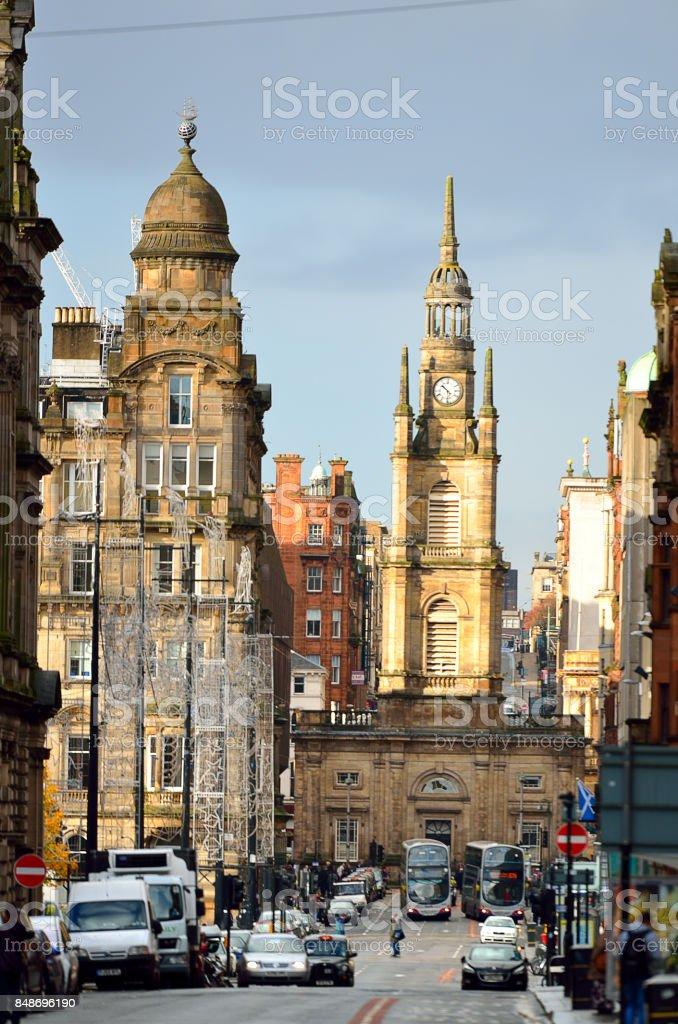 Stock image of Glasgow, Scotland stock photo