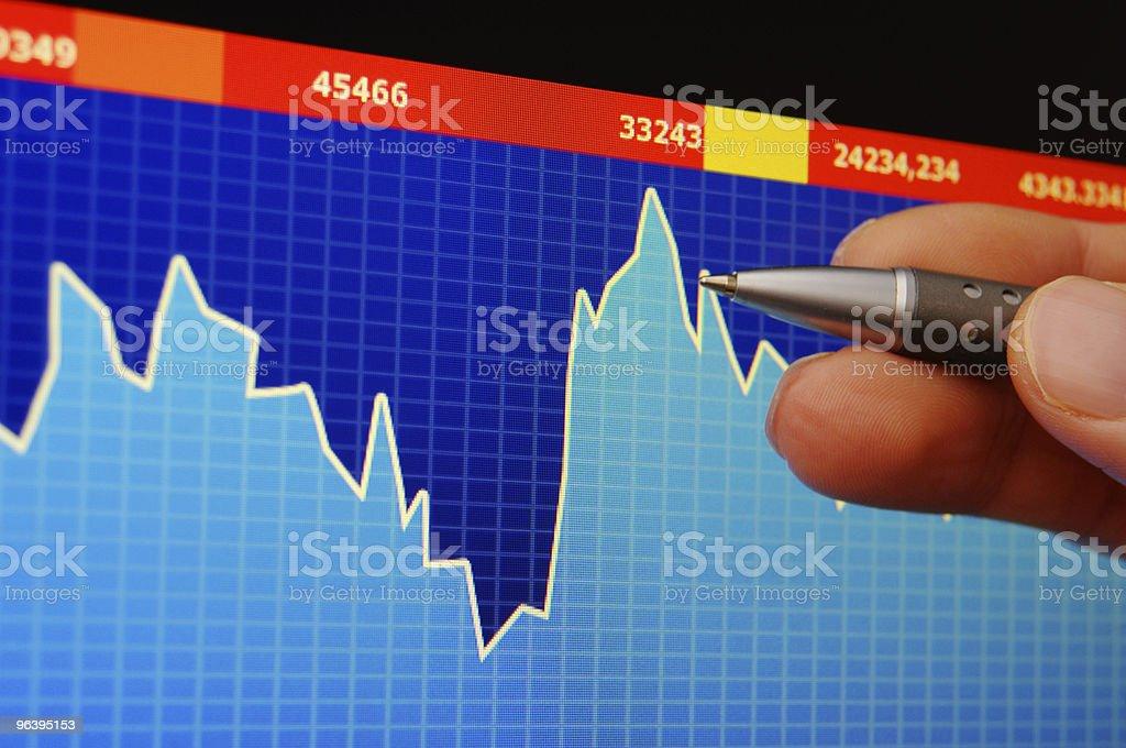 stock index - Royalty-free Analyzing Stock Photo