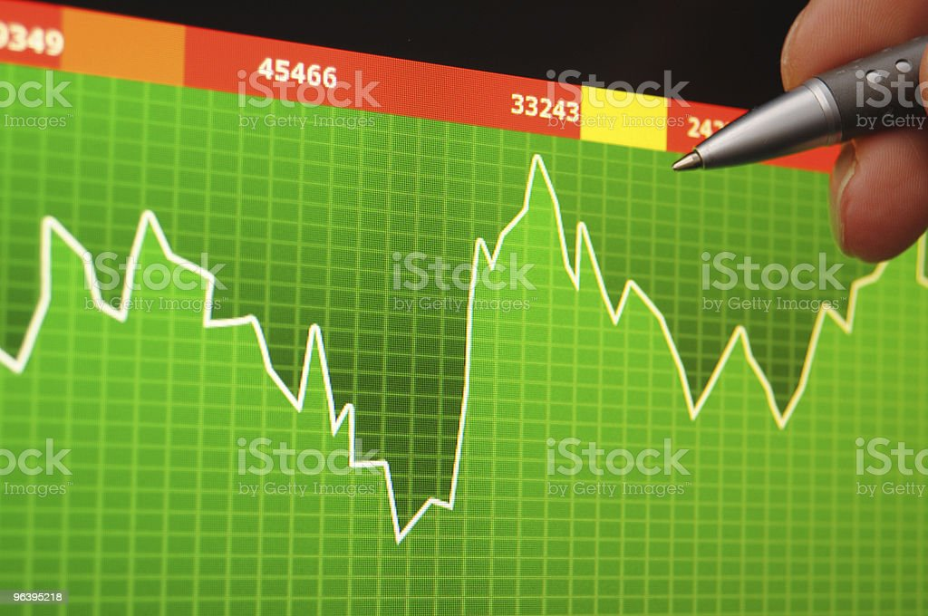 stock index - Royalty-free Analyzing Stock Photo
