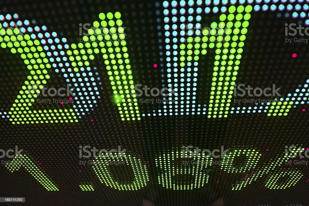 stock information royalty-free stock photo